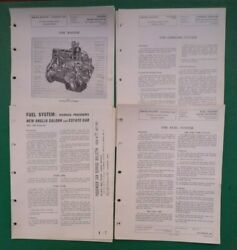 Ford New Anglia Prefect Service Bulletins Engine Fuel Cooling System From 1959