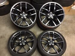 15andrsquo+ Nissan 370z Nismo Rays Forged Wheels Rims Staggered Set 19andrdquo Oem 350z G37