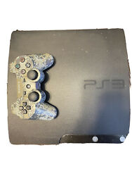 Sony Playstation 3 Console 120gb W/ All Cods And Ps4 Controller
