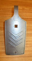 Vintage Mercury Mark 30 30h Outboard Face Plate Front Cover 1956 1958 Blue