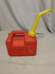 Vintage Sears Craftsman P10 Gas Can 1 Gallon 6 Oz Vented With Spout