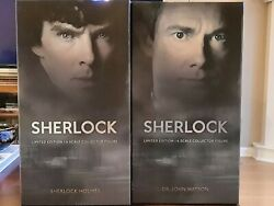 Big Chief Studios Sherlock And Watson Signature Numbered Pair-signed By Actors