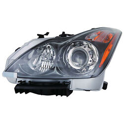 New Head Light For 2011-2013 Infiniti G37 Convertible In2502148oe