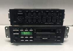 91-92 Ford Mustang Oem Radio Graphic Equalizer F1zf-19b162-ab L/d Am Fm Dolby St