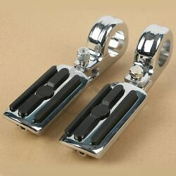 1 1/4 Highway Engine Guards Clamp Foot Pegs Fit For Harley Sportster Xl883 1200