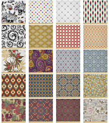 Ambesonne Vintage Themed Microfiber Fabric By The Yard For Arts And Crafts