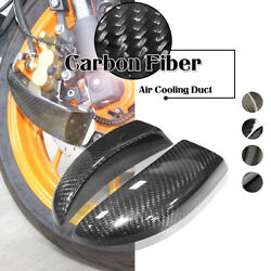 Carbon Fiber Brake Disc Rotor Cooling System Air Ducts For Ducati Diavel 11-19
