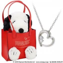 Jwell X Peanuts Snoopy Surprise Gift Silver Necklace Knil0038-k2000008 Ltd Jp