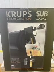 Krups - The Sub Compact Black ✅ Beer Machine 📦 Free Next Day Delivery
