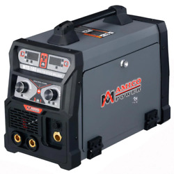 165 Amp Mig Wire Feed/flux Core/tig Torch/stick Arc Welder, Weld Aluminum With 2