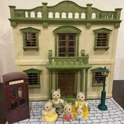 Sylvanian Families Early Urban House Set Miniature Doll Calico Critters Epoch