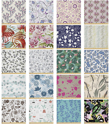 Ambesonne Green Botany Microfiber Fabric By The Yard For Arts And Crafts
