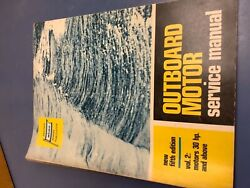 Abos Outboard Motor Service Manual 1970 5th Edition Vol 2 Motors 30 Hp And Above