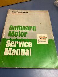 Abos Outboard Motor Service Manual 1967 4th Edition Vol 1motors 30 Hp And Below