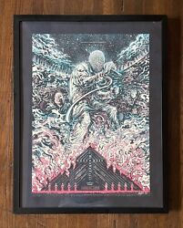 Miles Tsang Kanye West Glow In Dark Signed Screen Print 20/150 Sold Out