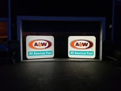 A And W Root-beer Advertising Signs