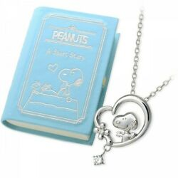 Jwell X Peanuts Snoopy Jewelry Box With Silver Necklace Set Original Limited Jp