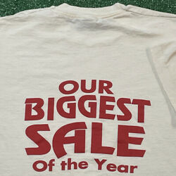 Jc Penny T Shirt Mens Xl Adult White Vintage 90s Retail Clothing Store Sale Usa