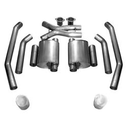 For Pontiac Gto 05-06 Exhaust System 304 Ss Turbo Chambered Dual Cat-back