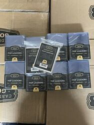 200 Ultra Cbg 3 X 4 Premium Toploaders Card Holders And 200 Sleeves