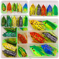 1pcs Frog Soft Thunder Frog Bionic Lures With Double Hook Fishing Supplies New