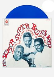Howlin' Wolf, Muddy Waters And Bo Diddley / Vinyl Lp Limited Edition On Blue