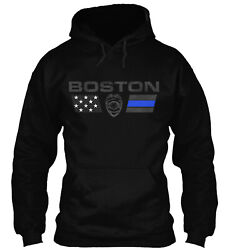 Teespring Boston Family Police Classic Pullover Hoodie Poly Cotton Blend