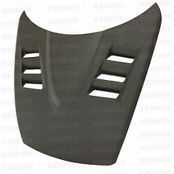 Seibon Ts-style Dry Matte Carbon Hood For 2004-2008 Mazda Rx8