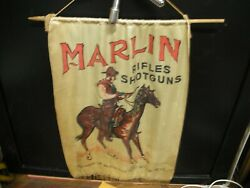 Vintage Winchester Headquarters For Rifles And Shotguns Silk Banner