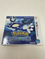 Pokemon Alpha Sapphire Nintendo 3ds Game Brand New And Factory Sealed