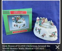 House Of Lloyd, Christmas Around The World Collection, Skaters Waltz Musical