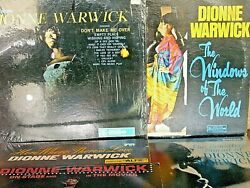 Lot Of 5 Dionne Warwick Vinyl Lps See Details Below All Orig 1960and039s Mint--