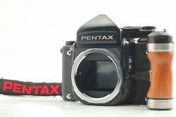 [exc+5 W/grip Strap] Pentax 67 Ttl Late Model Mirror Up Body Camera From Japan