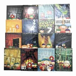 Mostly New Lot Of South Park Seasons 1-16 On Dvd Adult Cartoon Collection Comedy