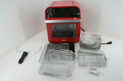 See Notes Gowise Usa Gw77723 11.6 Quart Air Fryer Toaster Oven W Rotisserie