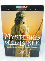 Mysteries Of The Bible Dvd Set 2003 Questar Collection 6-pack Box Disc Set