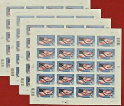 Four Sheets X 20 = 80 Of Honoring Veterans 34andcent Us Usa Postage Stamps. Sc 3508