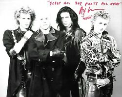 Alex Winter Signed 10x8 Autograph Photo - The Lost Boys - Bill And Tedand039s Adventure