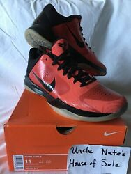 Nike Kobe 2010 Zoom V 5 And039all Star Game Westand039and039infraredand039 Size 11 Ds