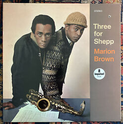Marion Brown Andldquothree For Sheppandrdquo Lp Impulse Stereo Red/black Labels