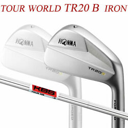 Special Order Honma Golf Tour World Tr20 Iron Pieces Set 10 Kbs 105 Steel Shaft