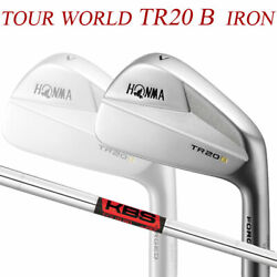 Special Order Honma Golf Tour World Tr20 Iron Pieces Set 10 Kbs 90 Steel Shaft