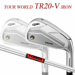 Special Order Honma Golf Tour World Tr20-v Iron Pieces Set 10 Kbs 90 Steel Shaft
