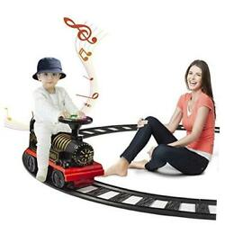 Electric Ride On Train With Track, Sound, Lights, 6v Battery, Indoor /