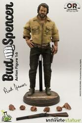 Kaustic Plastik And Infinite Statue 1/6 Bud Spencer Action Figure Model Toy