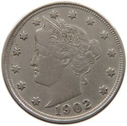 United States Nickel 1902 A46 437