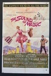 Sound Of Music Original Movie Poster - Julie Andrews 1965 Hollywood Posters