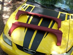 1961 1962 Cadillac Pair R And L Rear Fender Skirts Rustfree Primed