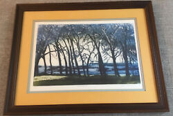 Joan Purcell_orig Etching_andrdquotwilightandrdquo_signed/titled By Artist_ships Free