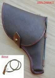 Original Ussr Soviet Red Army M1895 Nagant Revolver Holster Accessories And Marked